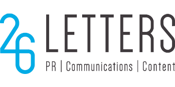 26 Letters Public Relations Ltd logo